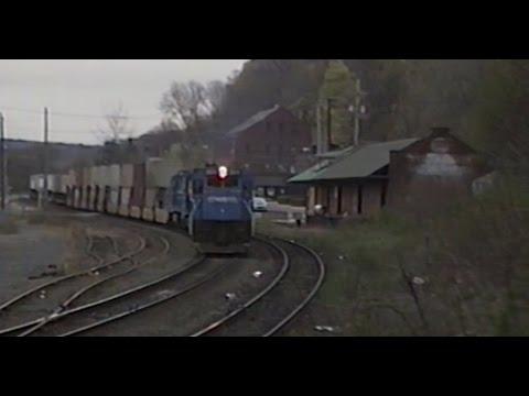 Conrail in the 1990's: REEL 6 Boston Line Springfield, Mass