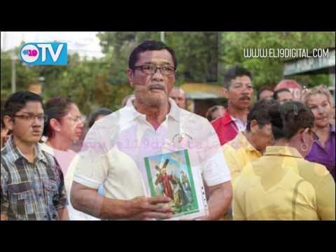 Pobladores de Monseñor Lezcano reviven pasión, muerte y resurrección de Jesucristo