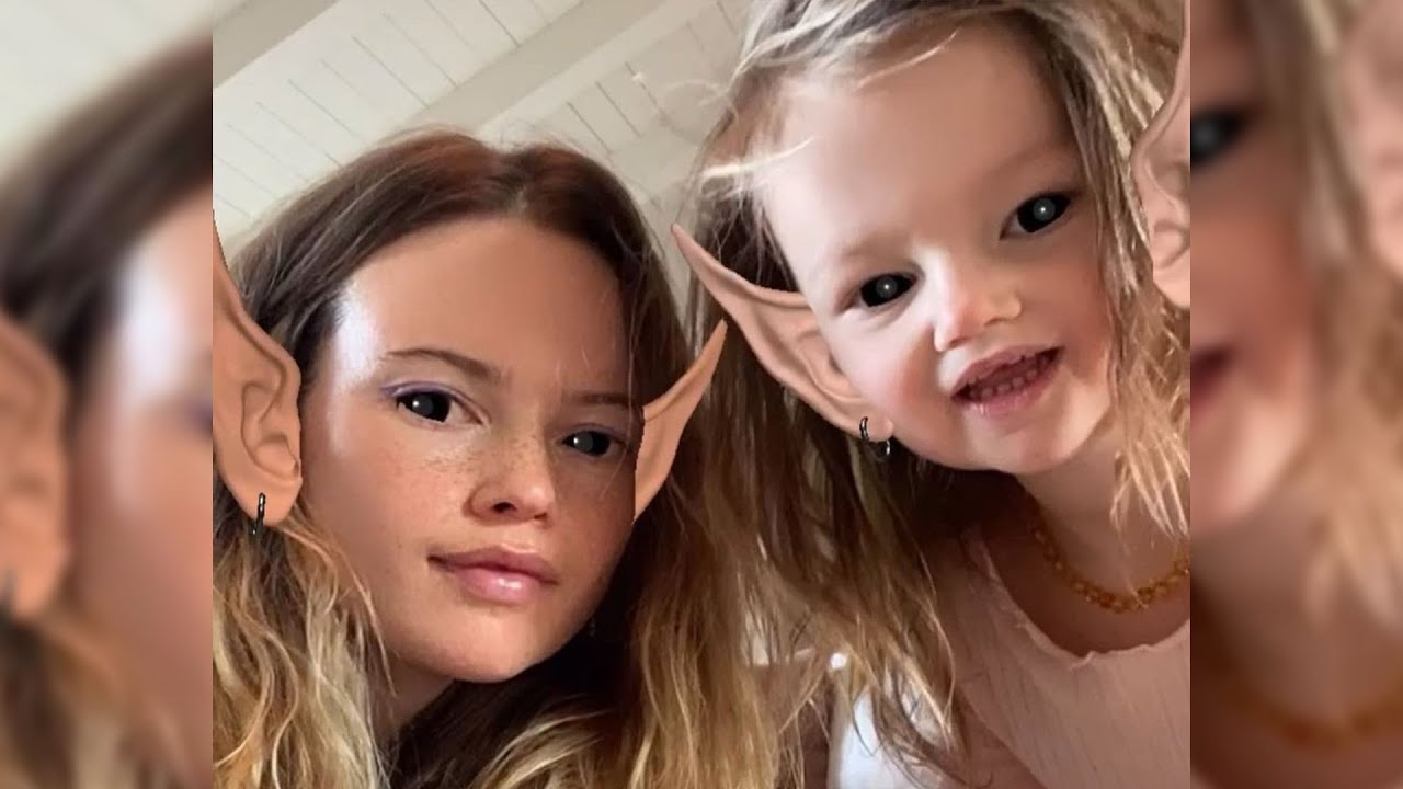 Behati Prinsloo Shares RARE Photo of Her and Adam Levine's Daughter Gio in Birthday Tribute
