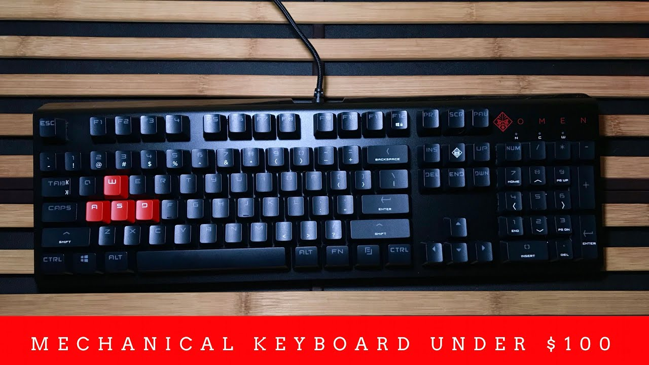 HP Omen Gaming Keyboard 1100