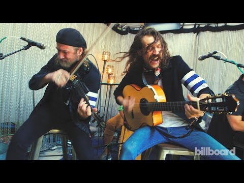 "Gogol Bordello ""Gypsy Auto Pilot"" Live Billboard Acoustic Session - Lollapalooza 2015"