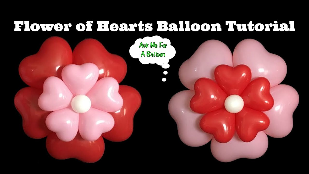 how to make a heart with a balloon