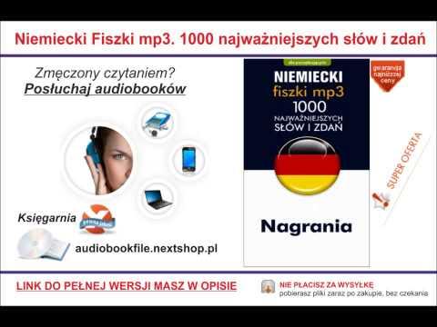 1000 NAJWAŻNIEJSZYCH SŁÓWEK I ZDAŃ - NIEMIECKI - PROGRAM + NAGRANIA MP3 FISZKI