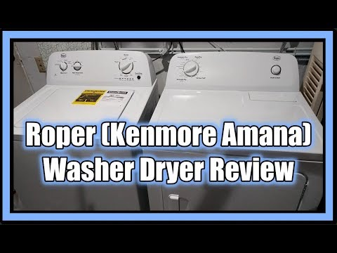 Roper (Kenmore, Amana)  Washer Dryer REVIEW (Home Depot) 2019