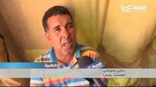 تونس: عاطلون عن العمل يعتصمون داخل خيام منتشرة في مدينة تطاوين