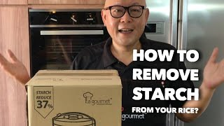 Starch-Removing Rice Cooker • …