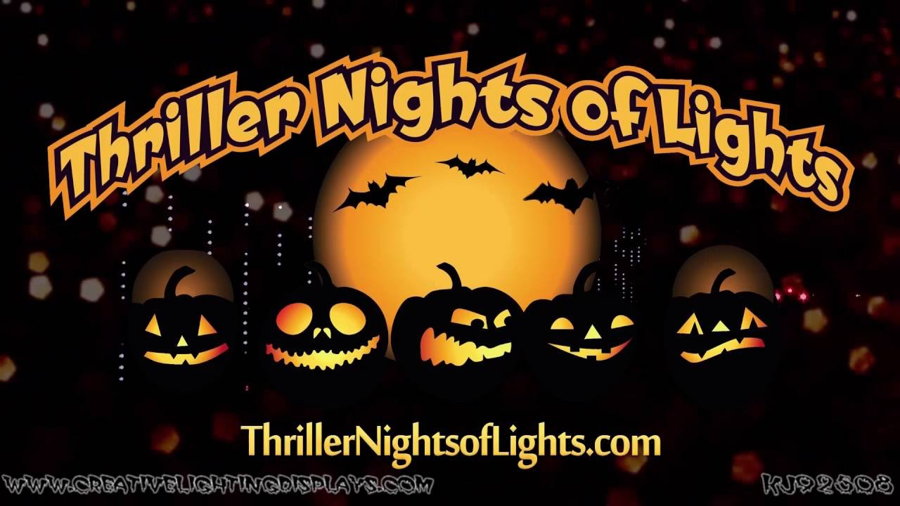 halloween light show 2016 thriller mobile al youtube - Halloween Lights Thriller