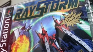 Classic Game Room - RAYSTORM review for PlayStation