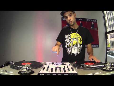 Learn To DJ Tutorial: How to Perform the Original Flare Scratch (DJ Throdown)