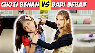 Badi Behan Vs. Choti Behan Part 7 @MyMissAnand | SAMREEN ALI