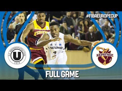 LIVE🔴 - U-BT Cluj Napoca (ROU) v Keravnos (CYP) - FIBA Europe Cup 2017-18