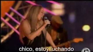 Mariah Carey - Stay The Night  [subtitulado al español] @ LIVE