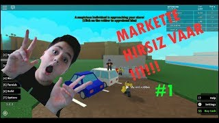 Markete Hırsız Girdii !! Roblox Retail Tycoon #1