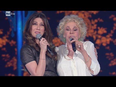 Ornella Vanoni ospite di Virginia Raffaele - Facciamo che io ero 07/06/2017