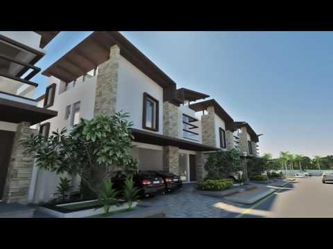 Luxurious Villas in Gachibowli Hyderabad - Ramky Tranquillas Walk Through.