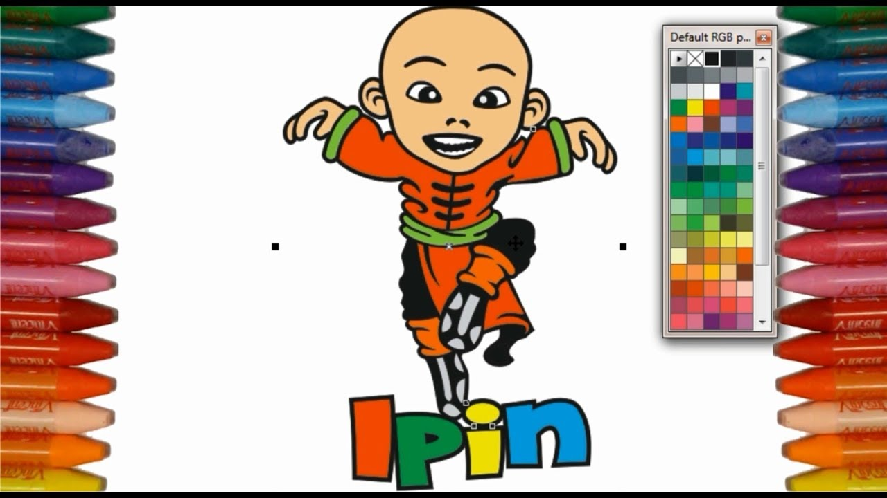 Belajar Mewarnai Gambar Upin Dan Ipin Untuk Anak Tk Learn Coloring Part3