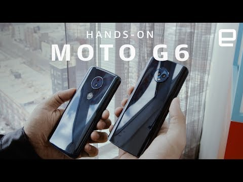 Moto G6 And G6 Play Hands-on