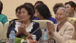 видео Глава Якутии поздравляет с Днем Матери