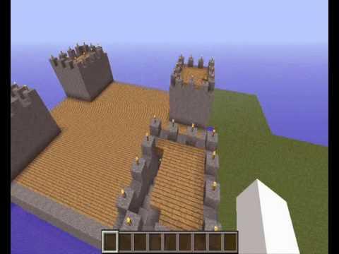 Comment construire un chateau minecraft youtube - Comment creer un chateau dans minecraft ...