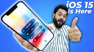 iOS 15 Is Here | Top 10 New Features Of iOS 15 ⚡ New Notifications, FaceTime Links, 3D Maps & More
