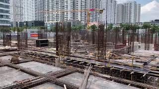 chung cư Han Jardin N01T6 T7 Ngoại Giao Đoàn - tiến độ tháng 6/2020