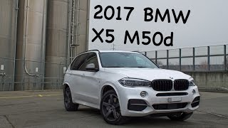2017 BMW X5 M50d Review! (driving, 40d vs 50d test, full review)