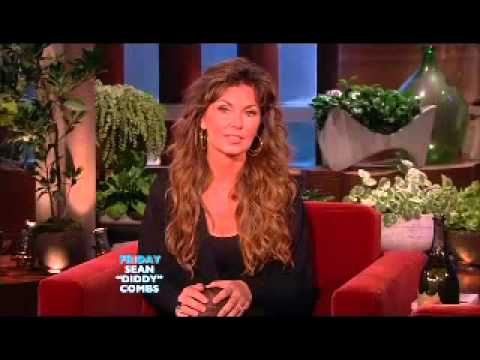 Shania Twain on  The Ellen DeGeneres Show