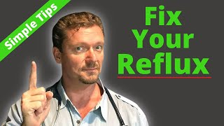 How to FIX Heartburn/GERD Naturally (AND Cheaply...)