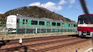 2017年2月3日 JR東日本烏山線EV-E301系甲種輸送その1