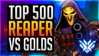 """""""Exploiting"""" Reaper in Low Ranks -- How To Play & Counter Reaper 101 Unranked to GM Flexing"""