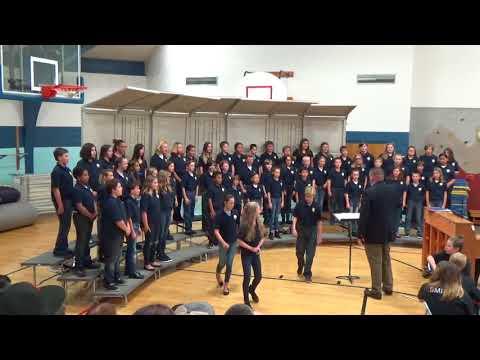 CS Porter Middle School 6th Grade Choir - America the Beautiful