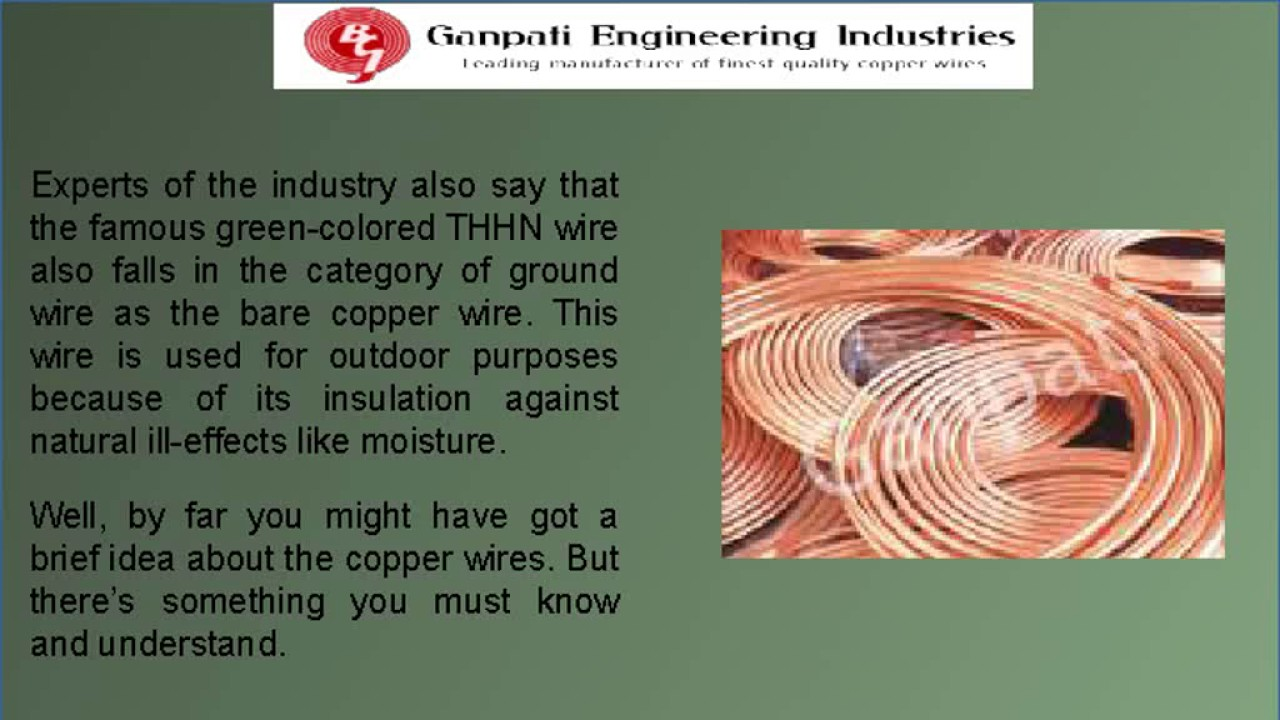 Bare copper wire Manufacturer and Suppliers - YouTube