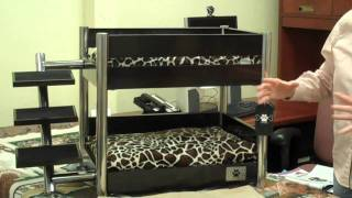 Lazybonezz Metropolitan Pet Bunk-bed
