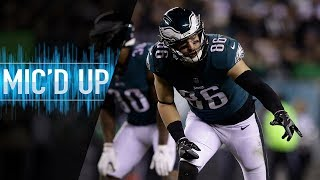 "Zach Ertz Mic'd Up vs. Redskins ""Put a stamp on this game!"" 