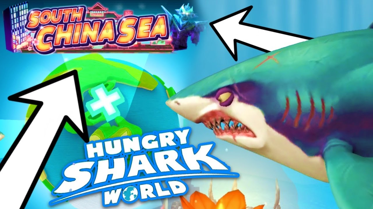 New south china sea map hungry shark world youtube gumiabroncs Gallery