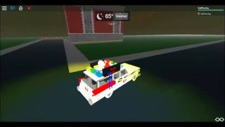 ROBLOX Ghostbusters: Test driving Ecto-1c