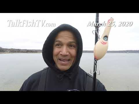 TalkFishTV.com - Early Spring Fishing Summary - Searching For Striped Bass - March 2020