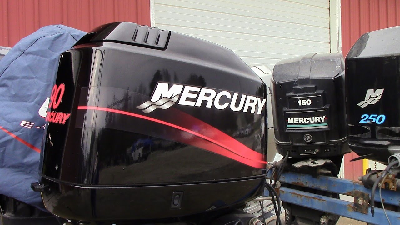 6m7221 used 2001 mercury 90elpto 90hp 2 stroke outboard for 2 2 mercury outboard motor