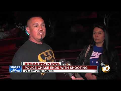 Officer-involved shooting at Valley View Casino