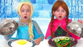 Frozen Elsa And Anna on Food COOKING Competition thumbnail