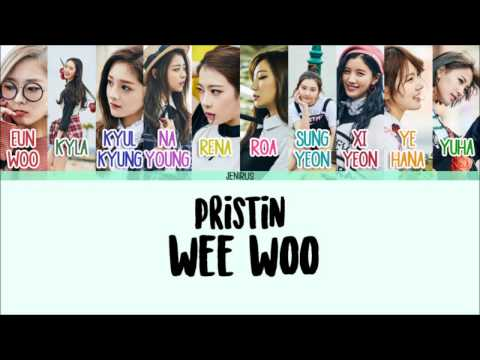 Free Download Pristin - Wee Woo [eng/rom/han] Color Coded Lyrics Hd Mp3 dan Mp4