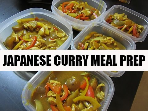 Japanese Chicken Curry Asian Meal Prep Ideas
