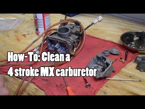 How-To: Clean a 4 stroke MX/Quad carburetor