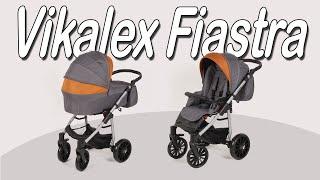 коляска 2 в 1 Vikalex Fiastra - Подробный обзор на новинку Викалекс Фиастра 2019 года