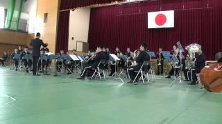 """Sakura"" composed by MORIYAMA Naotarō. Played by Japan Air Self-Def..."