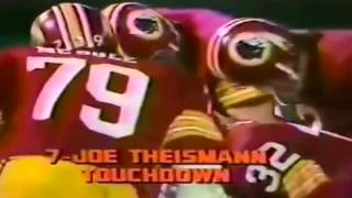 Joe Theismann Touchdown Dive 1977