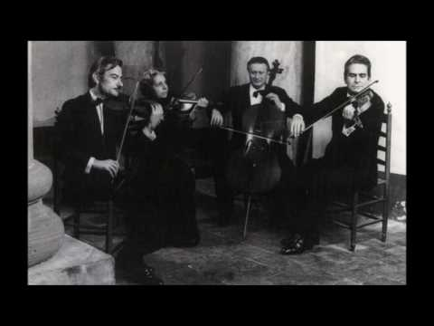 Mozart - String quartet K.465 - Italiano 1952
