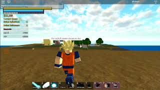 ROBLOX:Dragon ball z final stand,how to turn to ssj full power