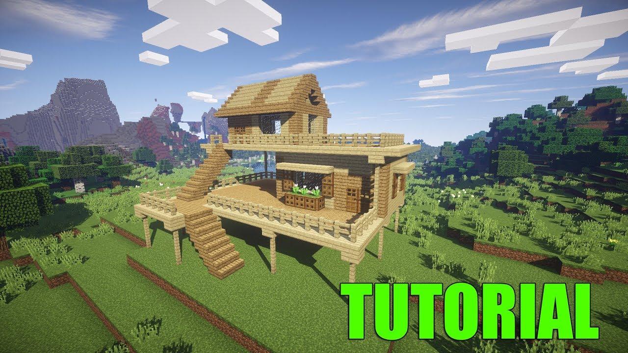 Come costruire una casa pazzesca minecraft tutorial for Case belle su minecraft