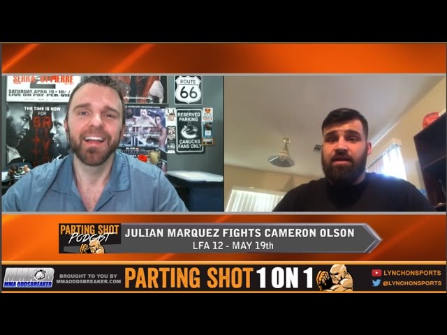"""LFA 12's Julian Marquez """"It's going to be a non-stop action fight with Cameron Olson"""""""